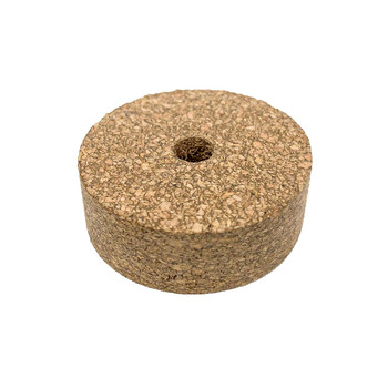 Rubber Mix Cork Ring - Light,  With Hole