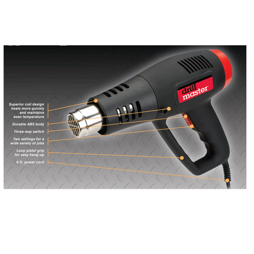 Dual Temperature heat Gun