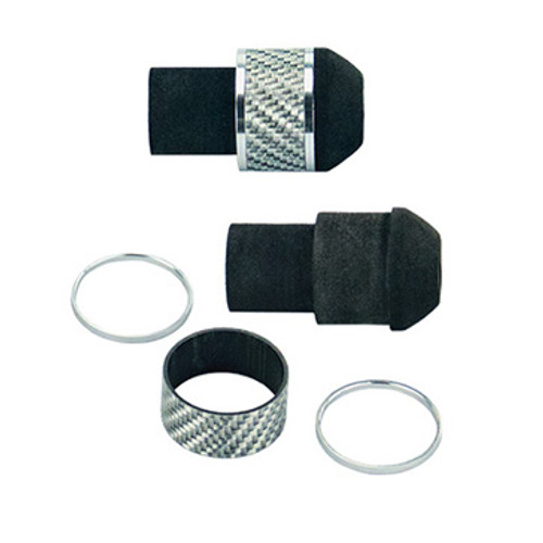 EVA/Texalium Fighting Butt Assembly - Silver Texalium
