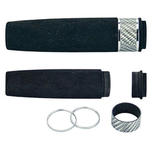 EVA/Texalium Rear Grip Assembly - Silver Texalium