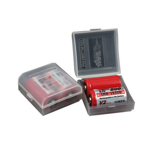Efest Plastic Battery Case 18350 Clear