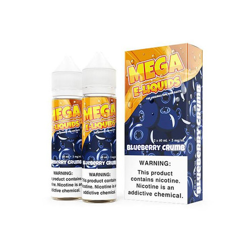 Mega Blueberry Crumb 120ML