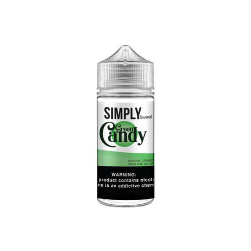 Simply Sweet Green Candy 100ML