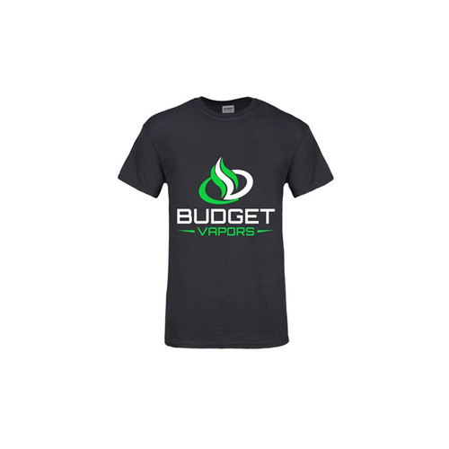 Budget Vapors T-Shirt for Men Black