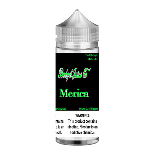 Budget Juice Co Merica Chubby Gorilla 120ML
