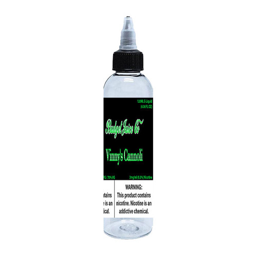 Budget Juice Co Vinny's Cannoli Standard 120ML