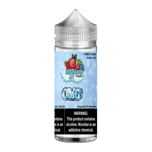 Infusions ICE OMG! Chubby Gorilla 120ML