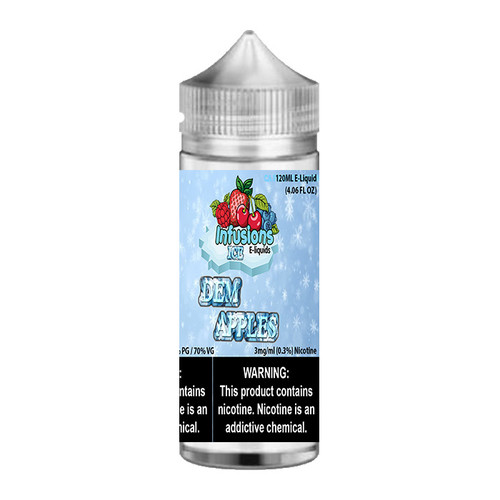 Infusions ICE Dem Apples Chubby Gorilla 120ML
