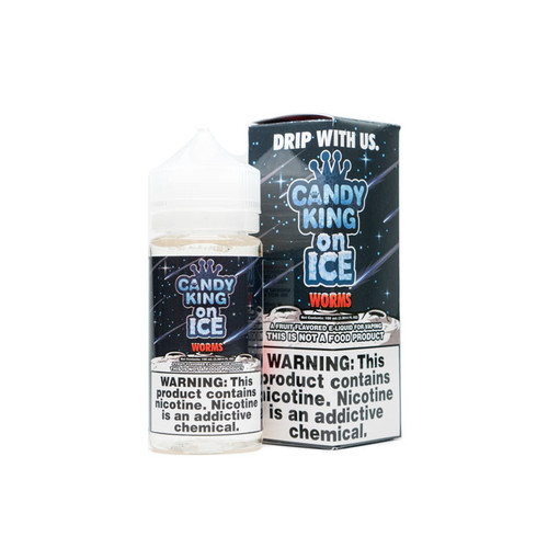 Candy King On ICE Worms 100ML