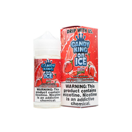 Candy King On ICE Belts Strawberry 100ML