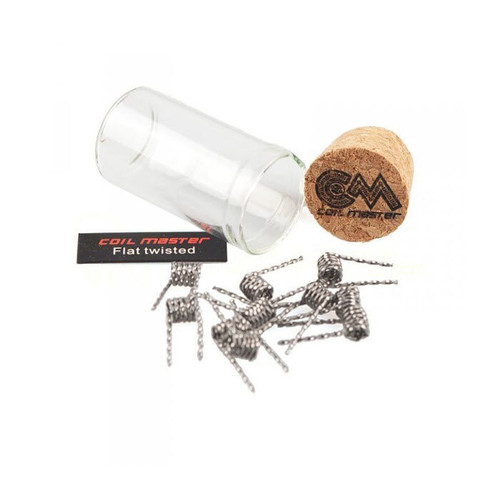 Coil Master Flat Twisted Pre-built Coils