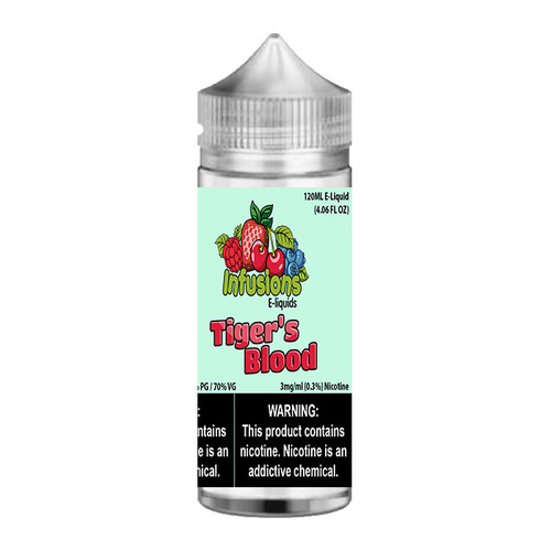 Infusions Tiger's Blood Chubby Gorilla 120ML