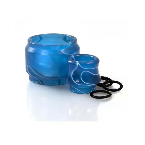 SMOK TFV8 Cloud Beast Drip Tip and Expansion Tank Blue