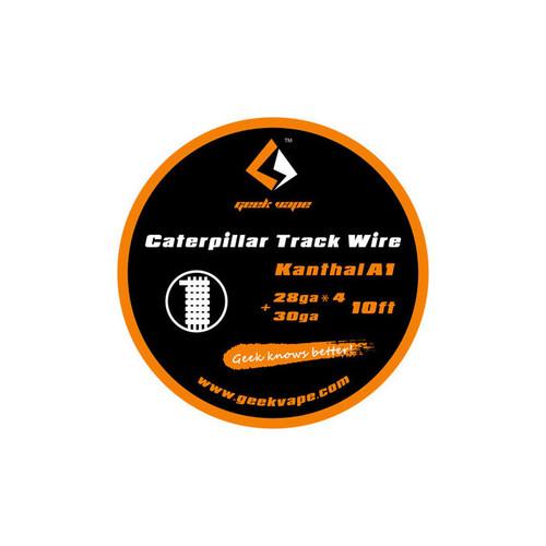 Geek Vape Caterpillar Track Wire Kanthal A1 28GA*4 + 30GA 10 Feet