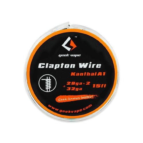 Geek Vape Clapton Wire Kanthal A1 28GA*2 + 32GA 15 Feet