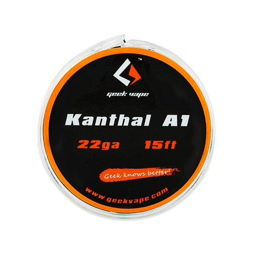 Geek Vape Kanthal A1 Spool Wire 22GA 15 Feet