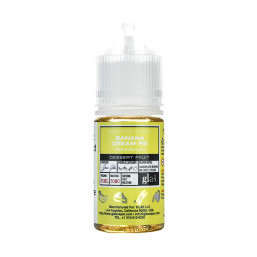 Basix Salt Banana Cream Pie 30ML