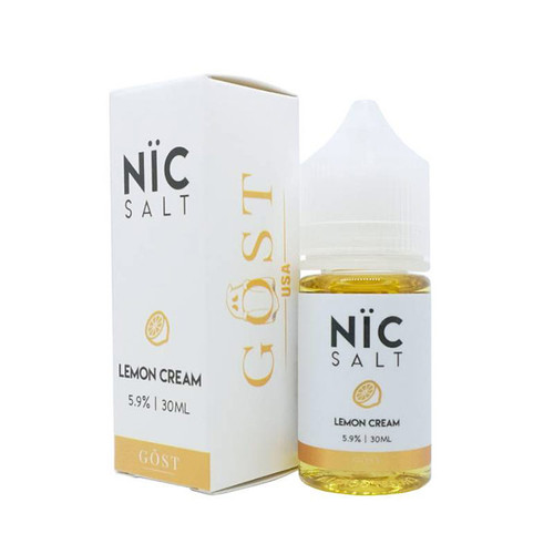 Gost Salt Lemon Cream 30ML