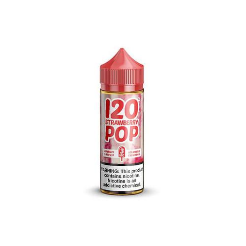 Mad Hatter 120 Strawberry Pop 120ML