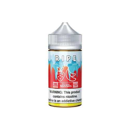 Ripe Collection On ICE Straw Nanners 100ML
