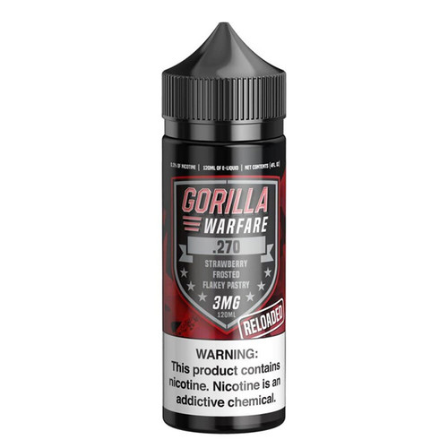 Gorilla Warfare .270 Reloaded 120ML