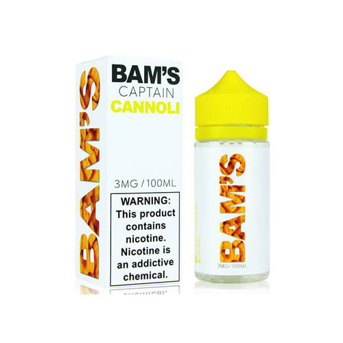 Bam's Cannoli Captain Cannoli 100ML
