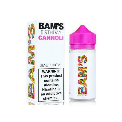 Bam's Cannoli Birthday Cannoli 100ML