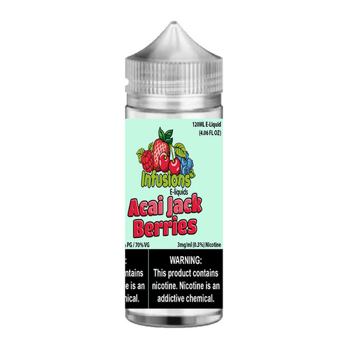 Infusions Acai Jack Berries Chubby Gorilla 120ML
