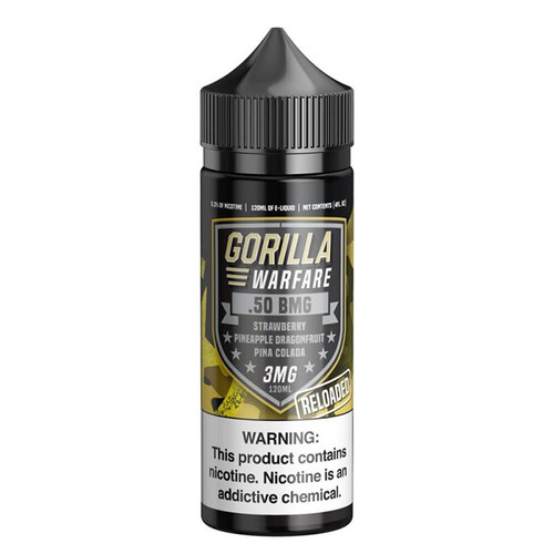 Gorilla Warfare .50 BMG Reloaded 120ML