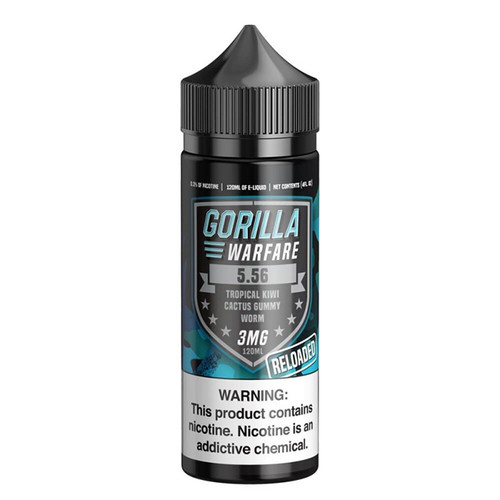 Gorilla Warfare 5.56 Reloaded 120ML