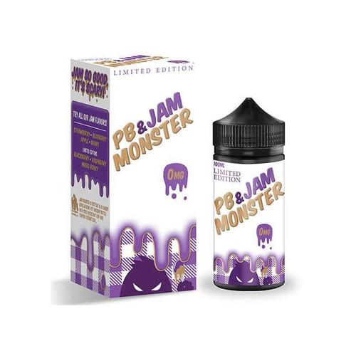 Jam Monster PB & Jam Grape 100ML