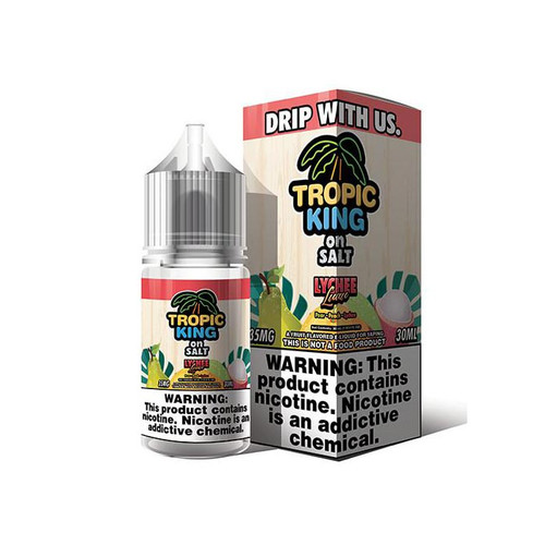 Tropic King On Salt Lychee Luau 30ML