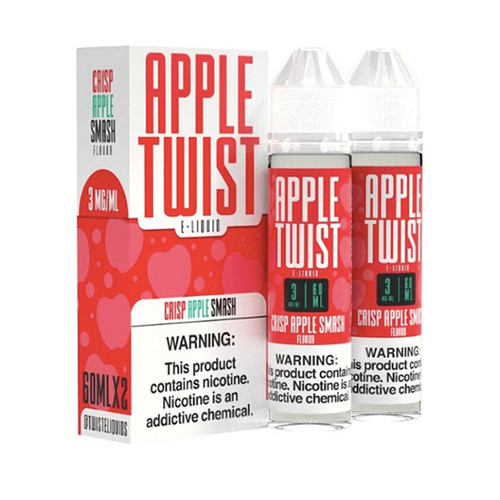 Apple Twist Crisp Apple Smash 120ML