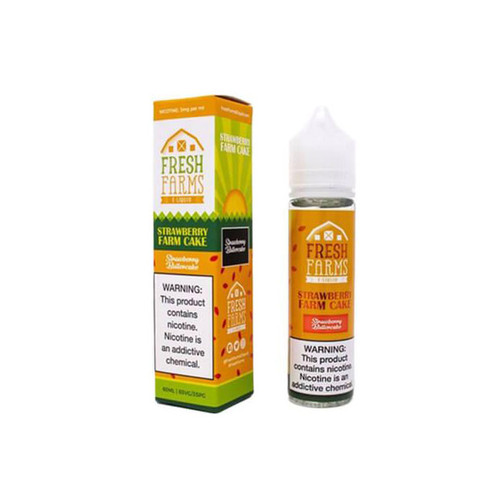 Fresh Farms Strawberry Farm Cake 60ML