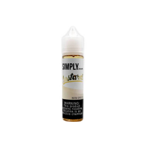 Simply Dessert Custard 60ML