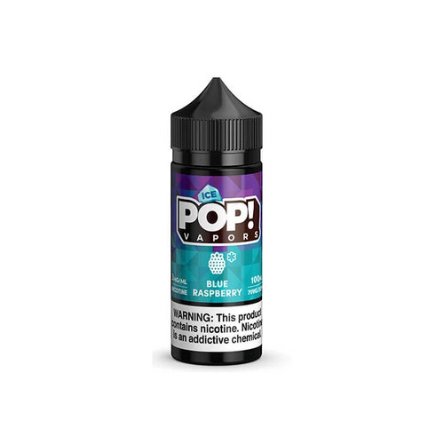 POP! ICED Blue Raspberry 100ML