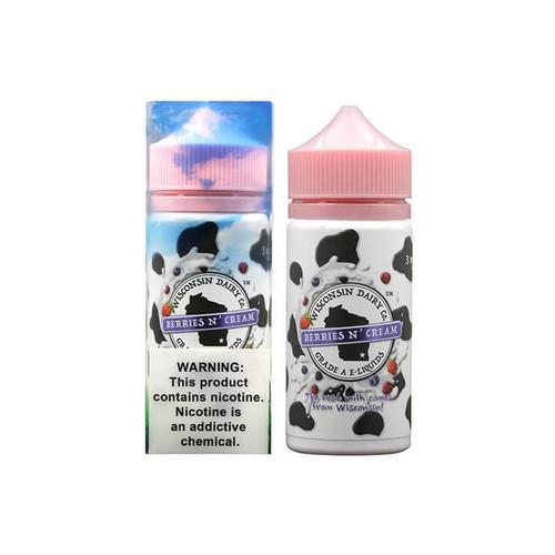 Wisconsin Dairy Co. Berries N' Cream 100ML