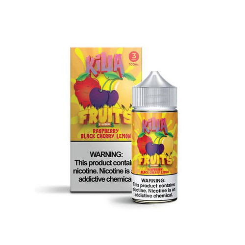 Killa Fruits Raspberry Black Cherry Lemon 100ML