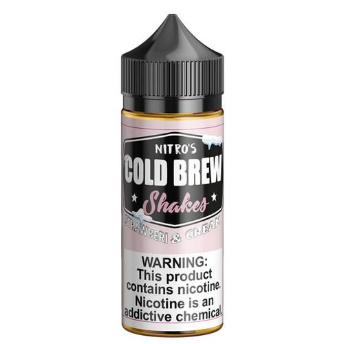Nitro's Cold Brew Shakes Strawberi & Cream 100ML