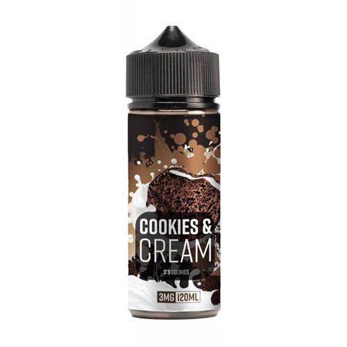 OOO Flavors Cookies & Cream 120ML