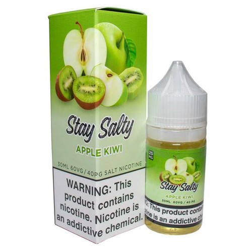 Stay Salty Apple Kiwi 30ML