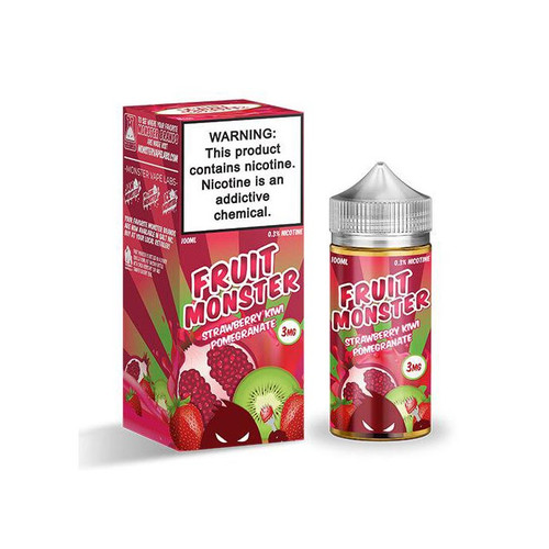 Fruit Monster Strawberry Kiwi Pomegranate 100ML