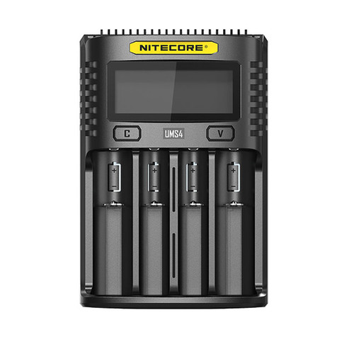 Nitecore UMS4 Intelligent USB Superb Battery Charger
