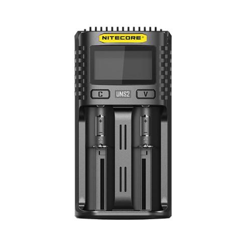 Nitecore UMS2 Intelligent USB Superb Battery Charger