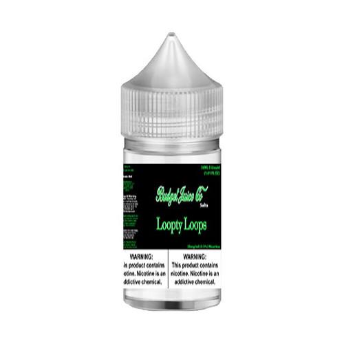 Budget Juice Co Salts Loopty Loops 30ML