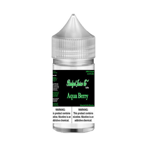 Budget Juice Co Salts Aqua Berry 30ML