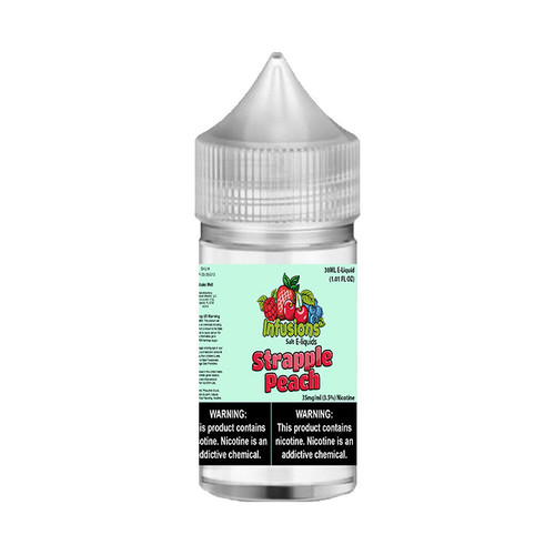 Infusions Salt Strapple Peach 30ML