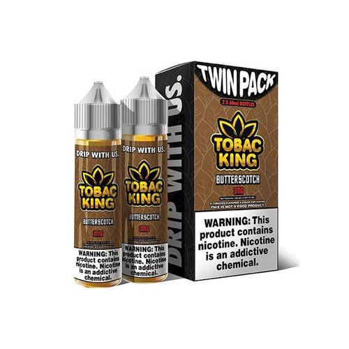 Tobac King Butterscotch 120ML