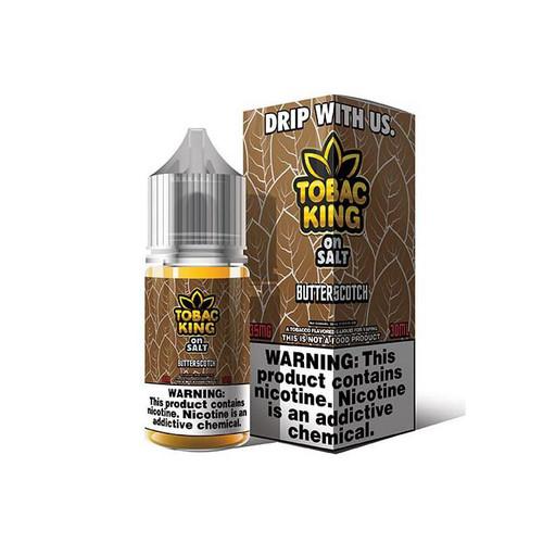 Tobac King On Salt Butterscotch 30ML