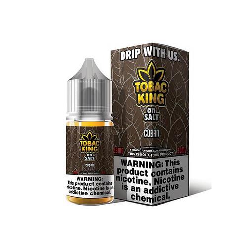 Tobac King On Salt Cuban 30ML